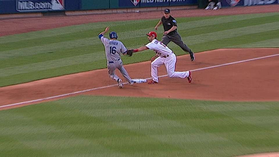 Safe call overturned at third