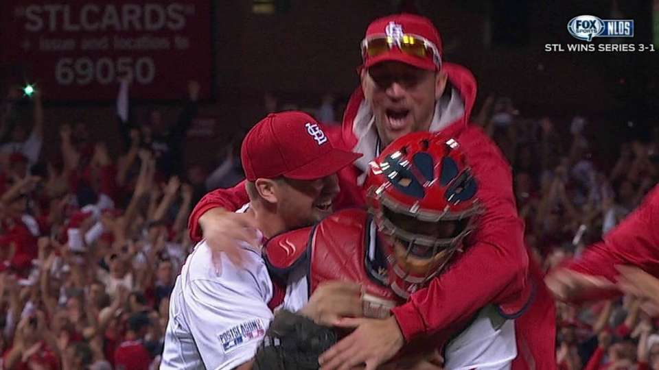 Cardinals headed to NLCS