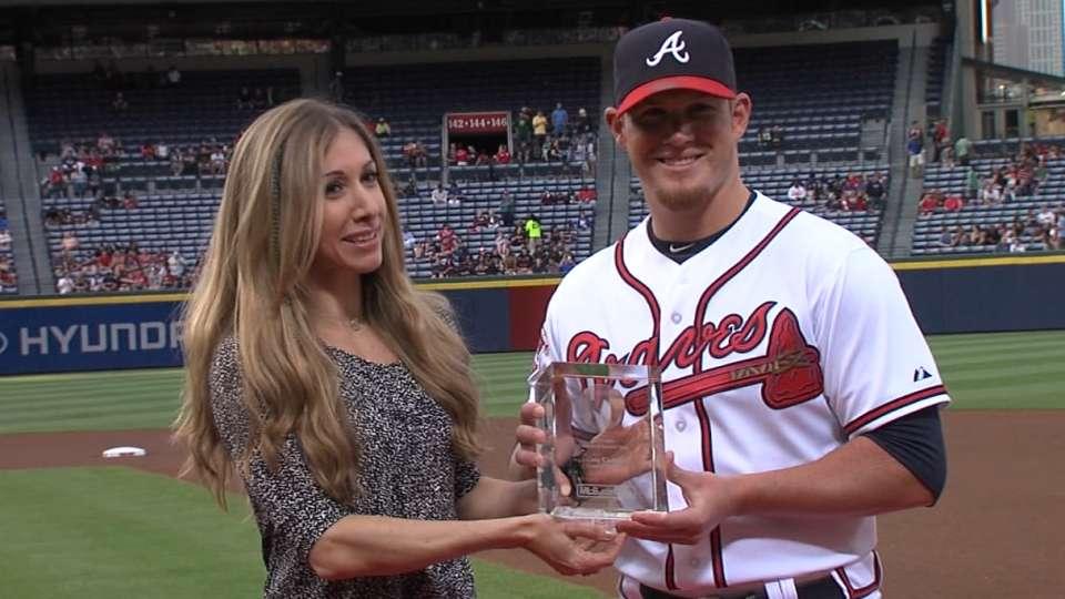 Kimbrel awarded GIBBY in Atlanta