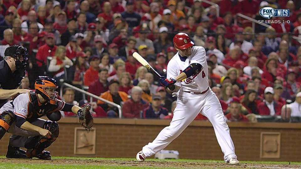 Molina's milestone single