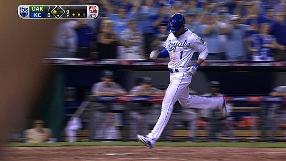 Aoki's game-tying sac fly