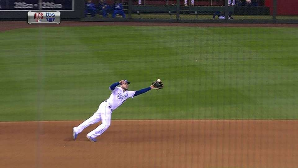 Moose's outstanding catch