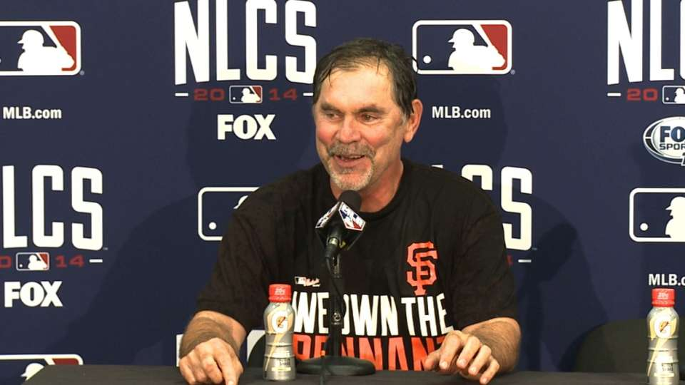 Bochy on Giants' continuity