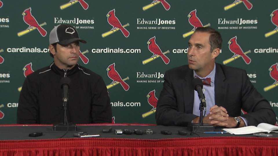 Mozeliak, Matheny on 2014 season