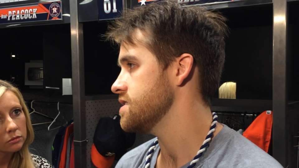 Astros on win over Angels