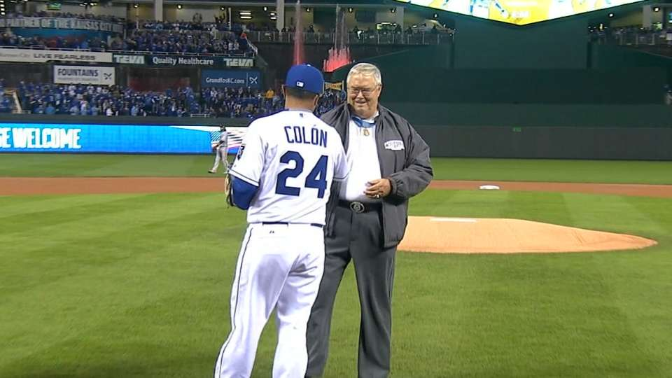 Medal of Honor recipient's pitch