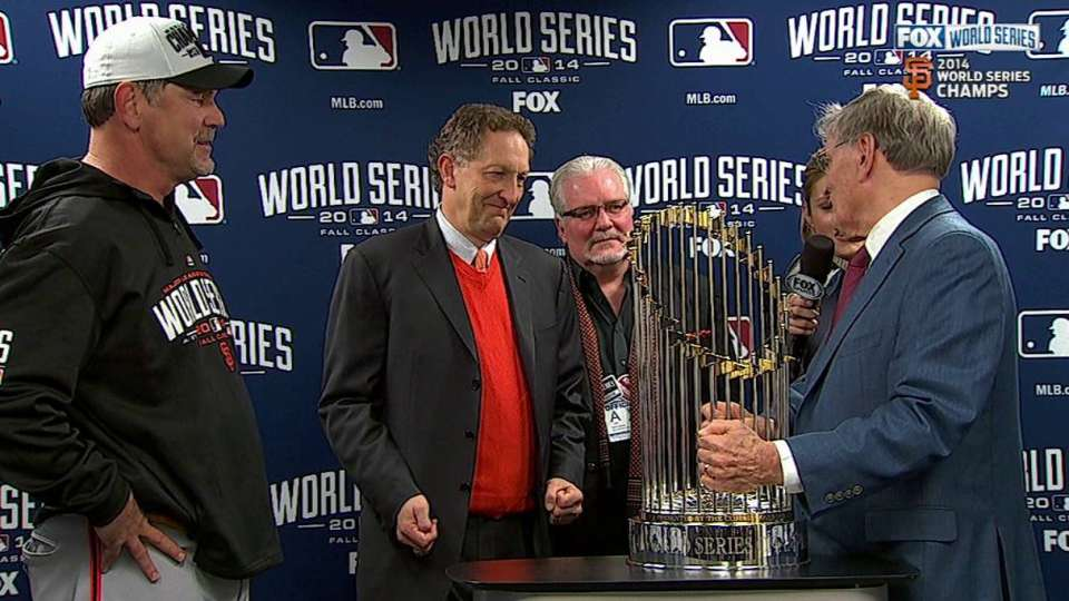 Baer, Sabean and Bochy on title