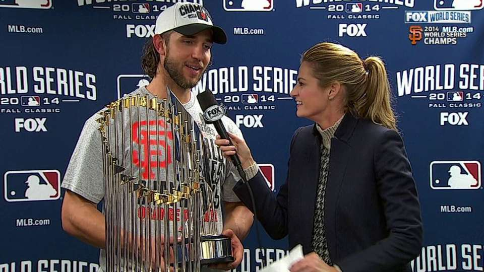 Bumgarner named World Series MVP