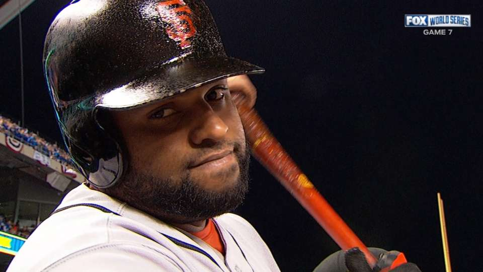 Panda's three-hit, two-run game