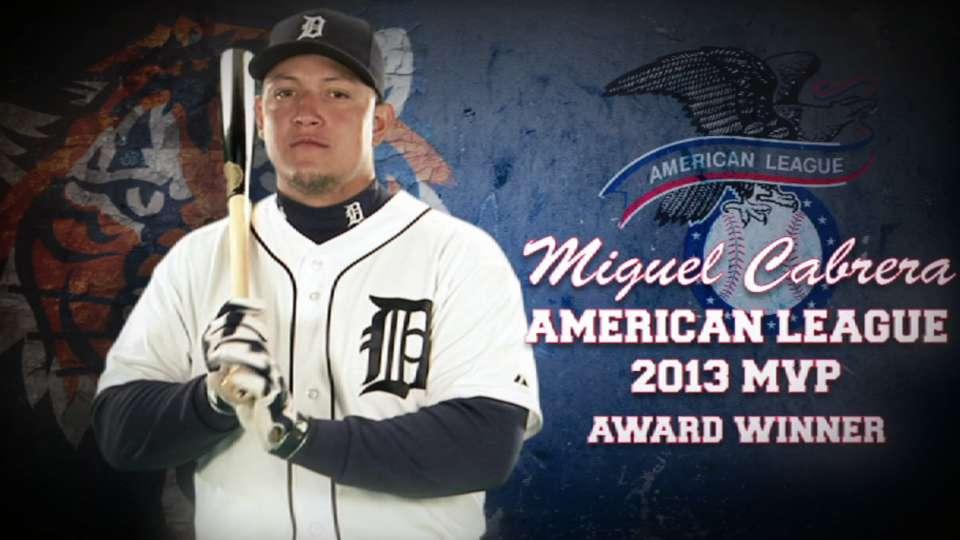 Miggy wins 2013 AL MVP Award