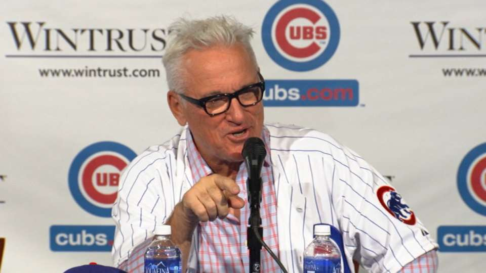 Maddon provides some laughs