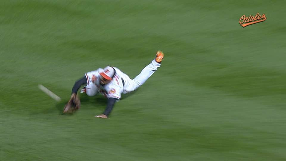 Markakis wins second Gold Glove