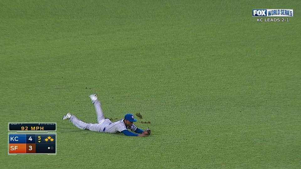 Giants tie game on Dyson catch
