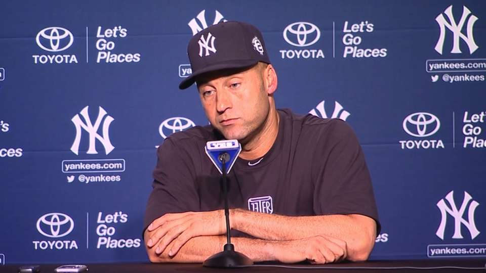Jeter on final farewell