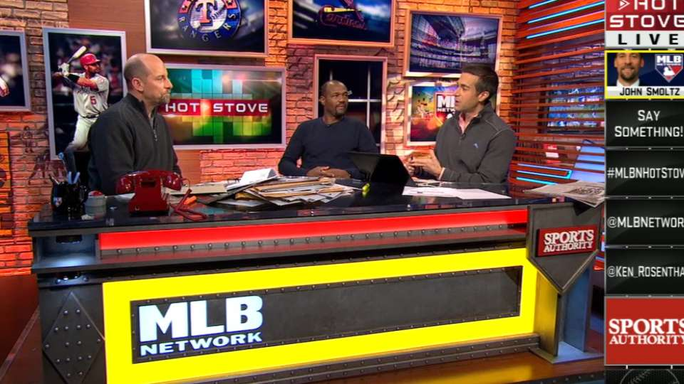 Smoltz on Hot Stove