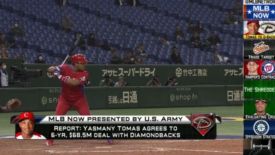 MLB Now: Yasmany Tomas