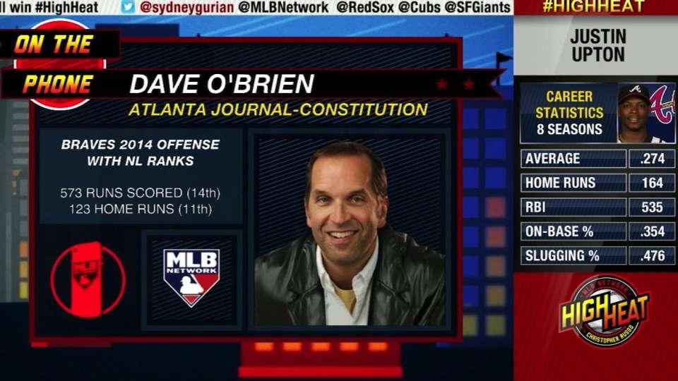 High Heat: O'Brien talks Braves