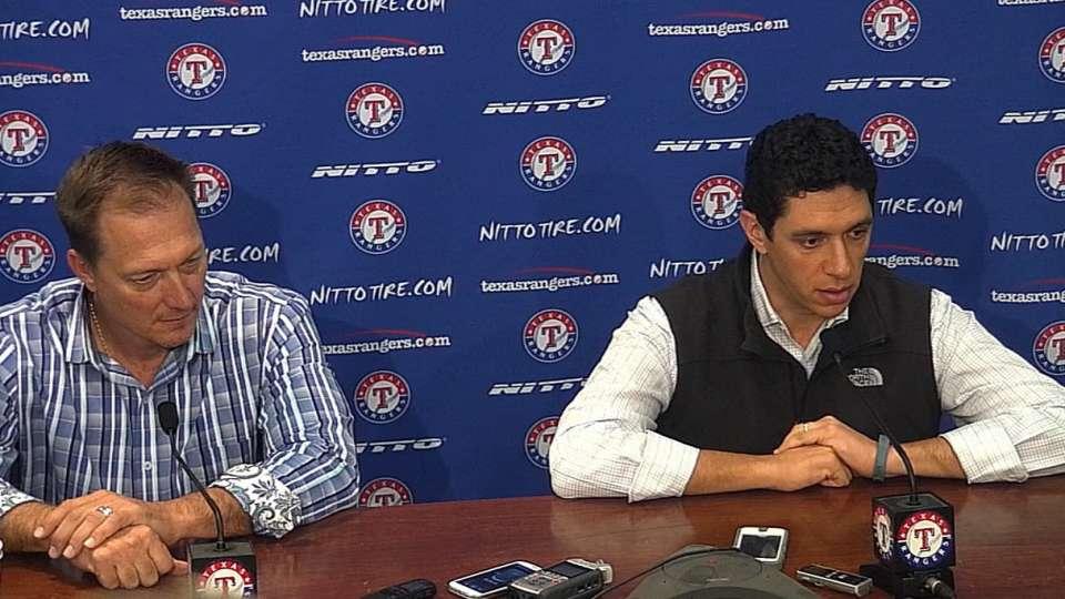 Rangers prep for Winter Meetings