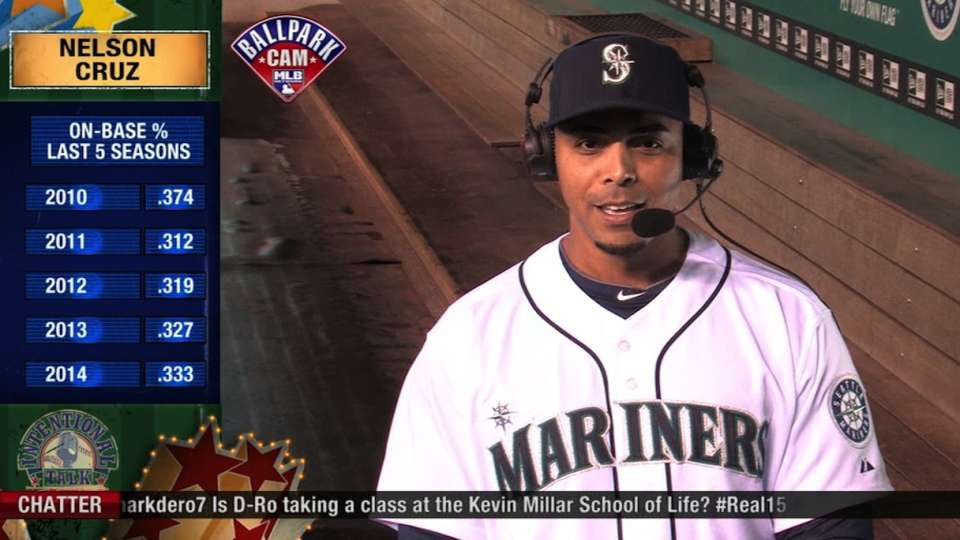 Intentional Talk: Nelson Cruz