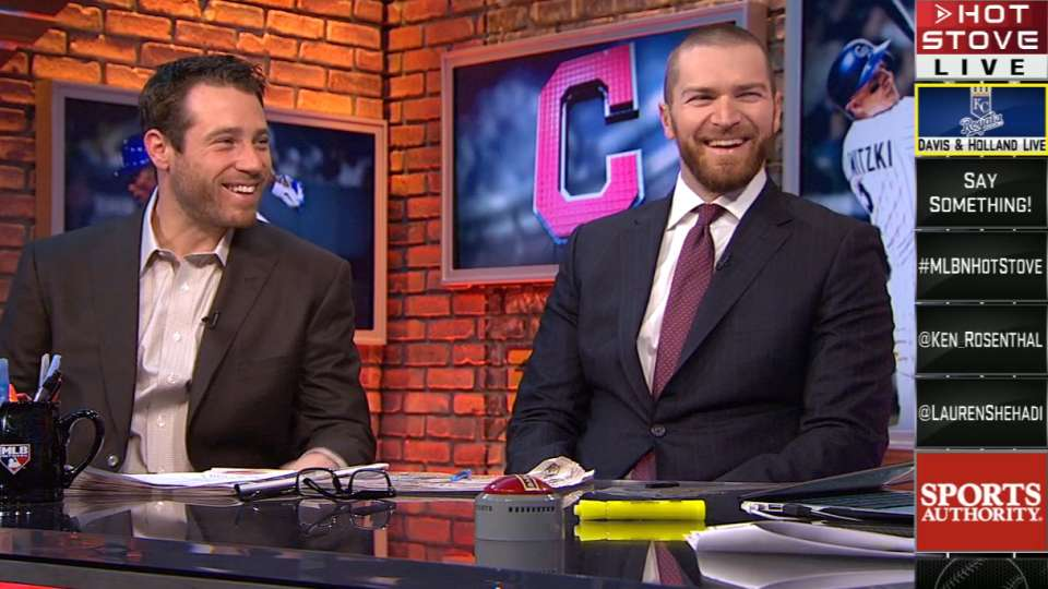 Holland and Davis on Hot Stove