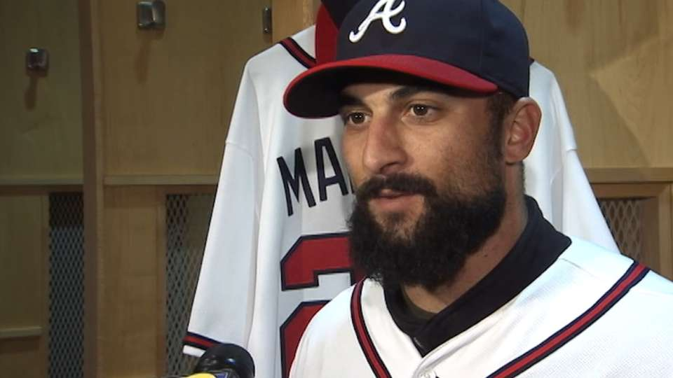 Markakis happy to be a Brave