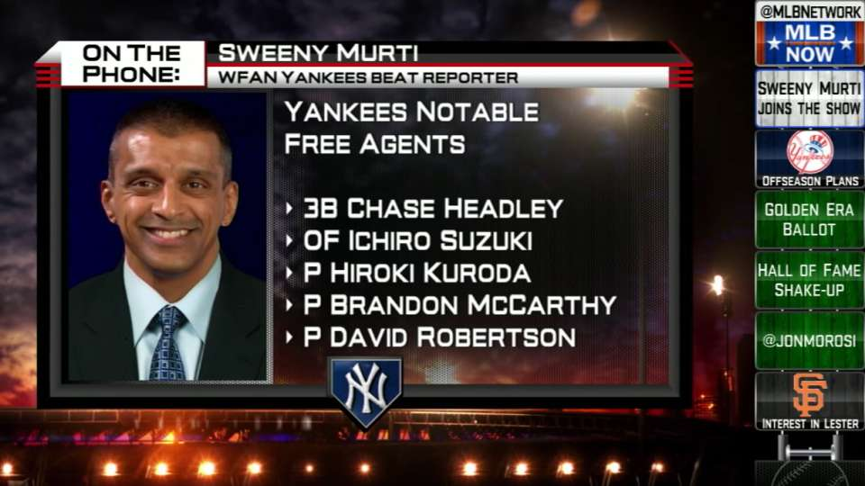 Murti on Yankees' offseason