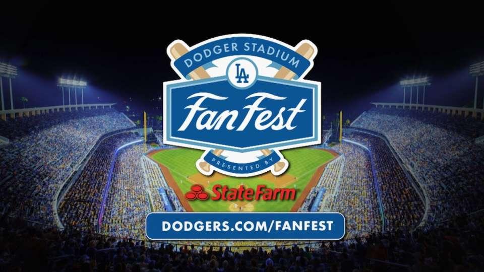 Dodgers Fanfest is January 31