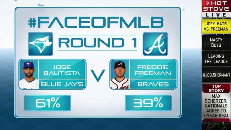 Face of MLB: Bautista vs Freeman