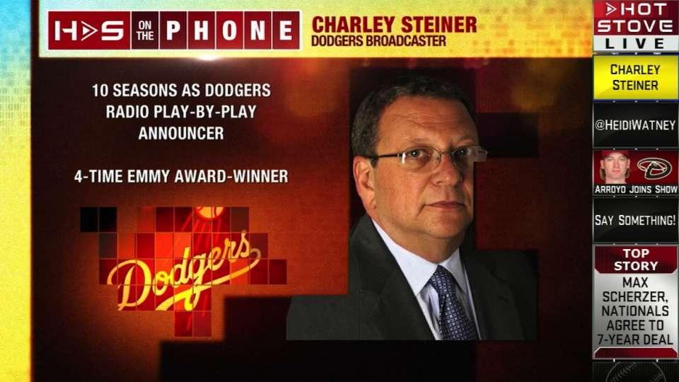 Hot Stove: Steiner talks Dodgers