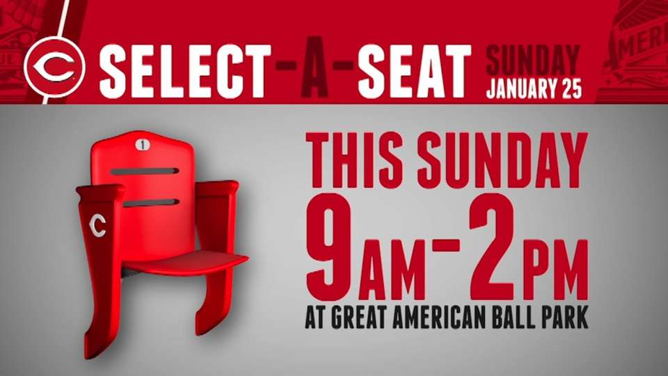 Select-A-Seat event this Sunday