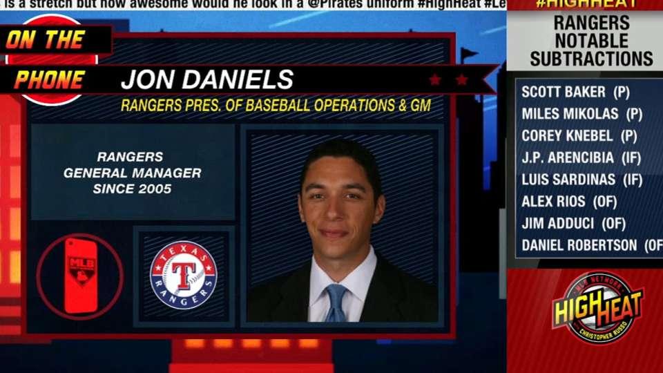 Rangers GM Daniels on High Heat