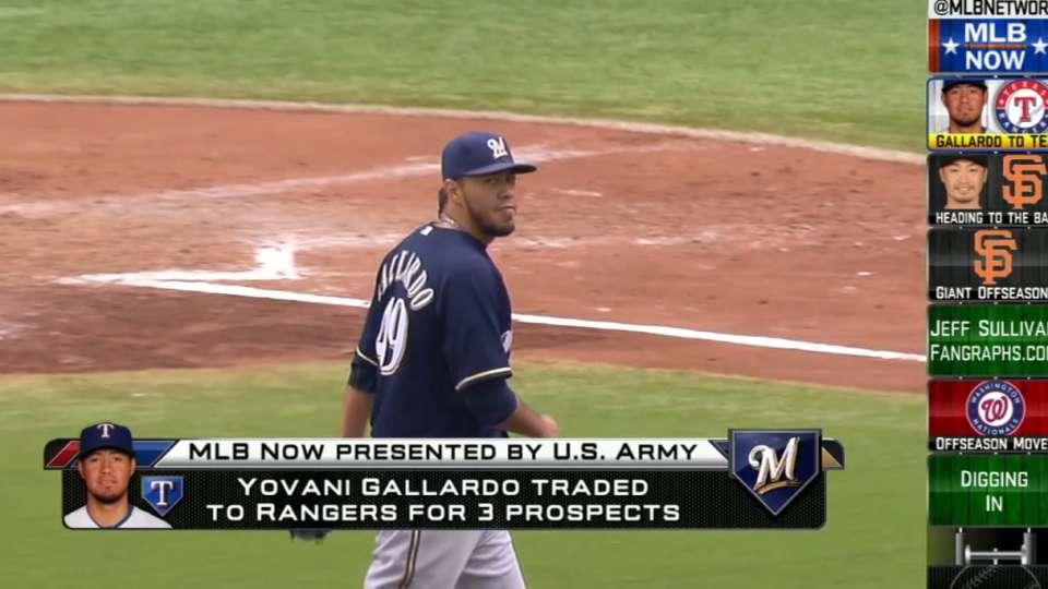MLB Now on Gallardo to Rangers