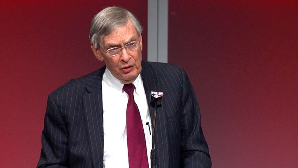 Selig thanks scouts at PBSFA