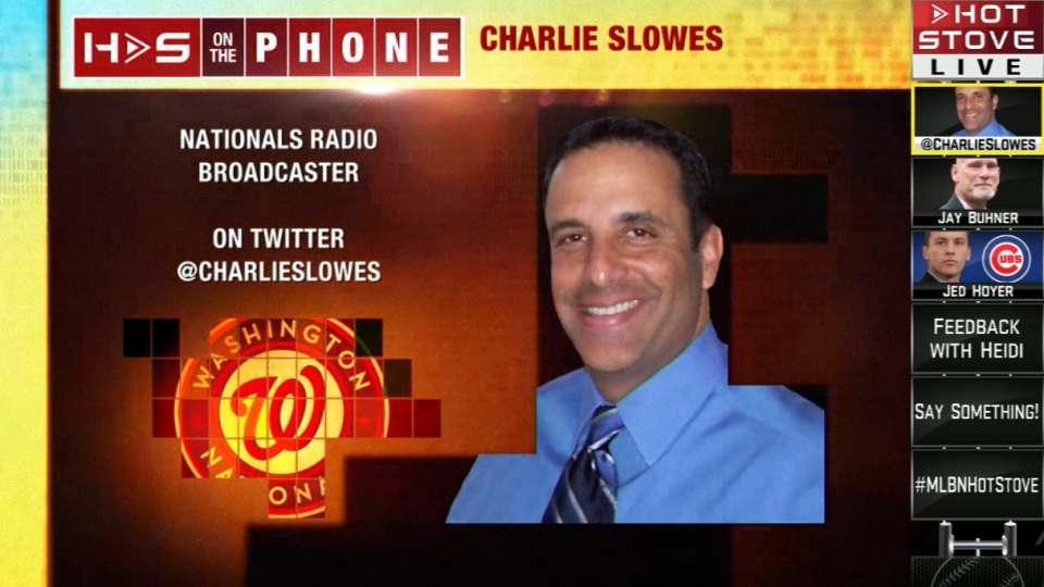 Hot Stove: Charlie Slowes
