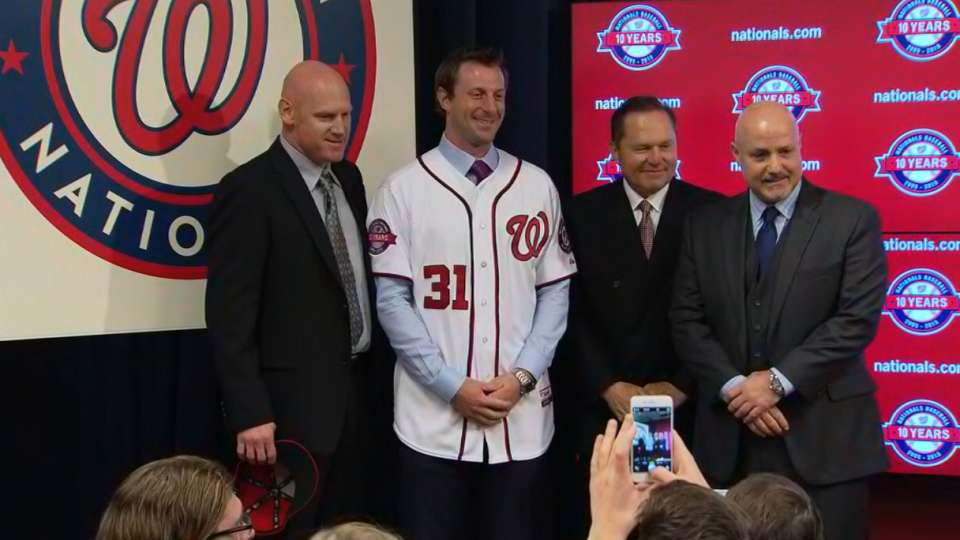 Scherzer unveiled in D.C.