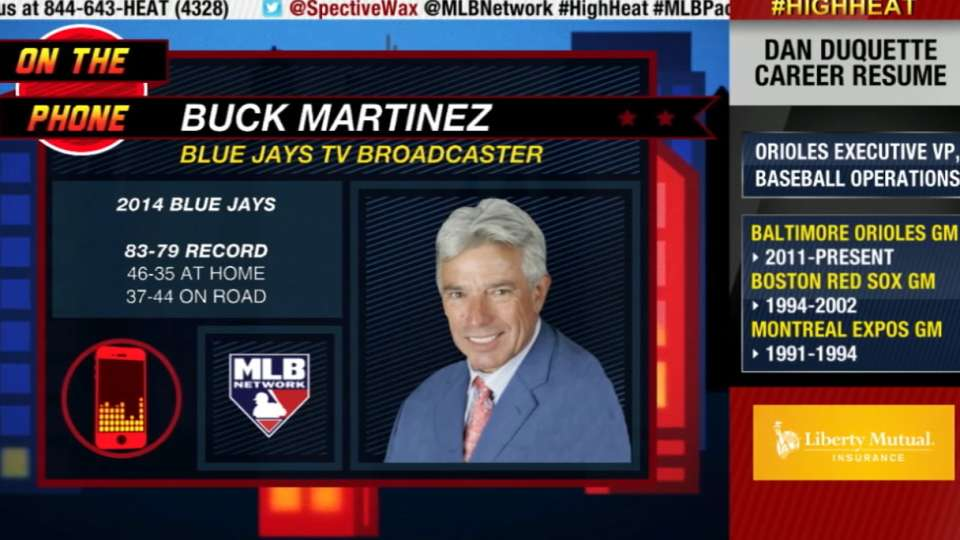 Buck Martinez chats with Mad Dog