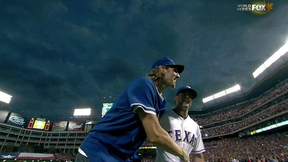 Dirk's first pitch