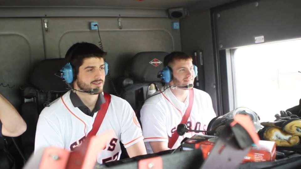 Astros Caravan visits Sugar Land