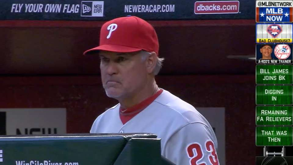 Lawrence on Phillies' clubhouse