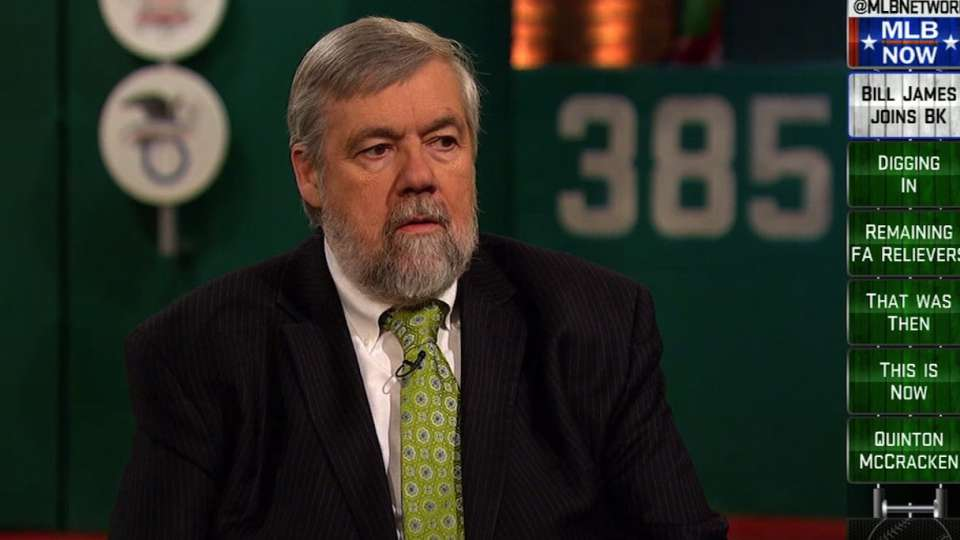 Bill James joins MLB Now