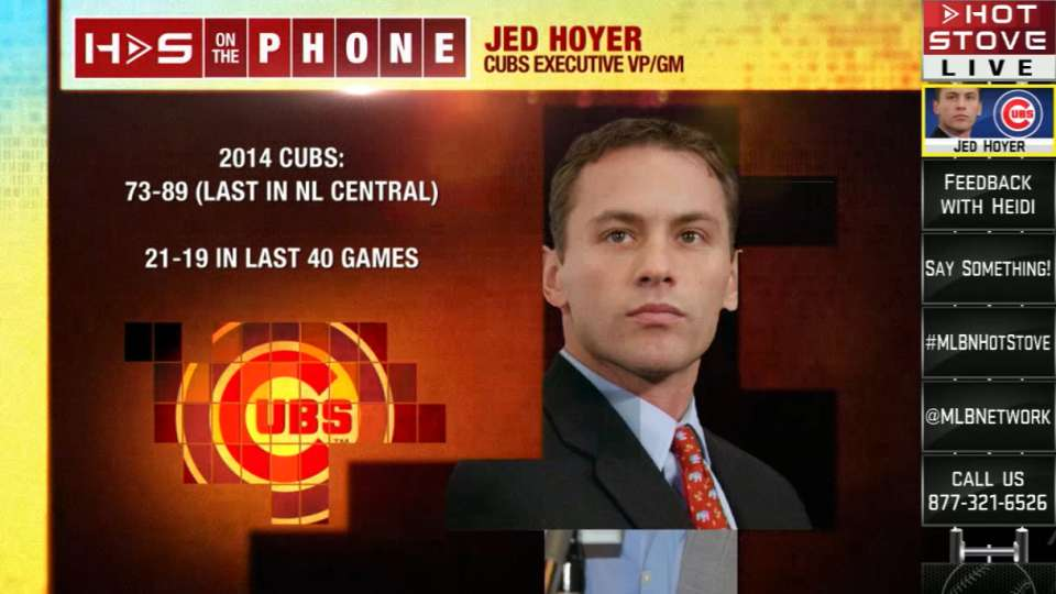 Jed Hoyer joins Hot Stove crew