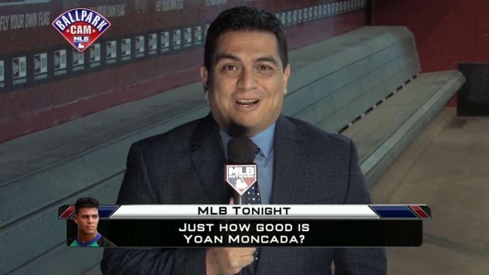 Jesse Sanchez on Tomas, Moncada