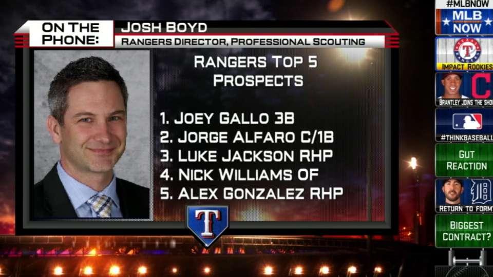 Josh Boyd talks Rangers' future