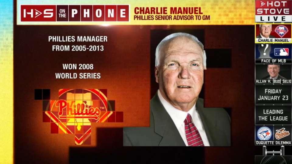Charlie Manuel calls Hot Stove