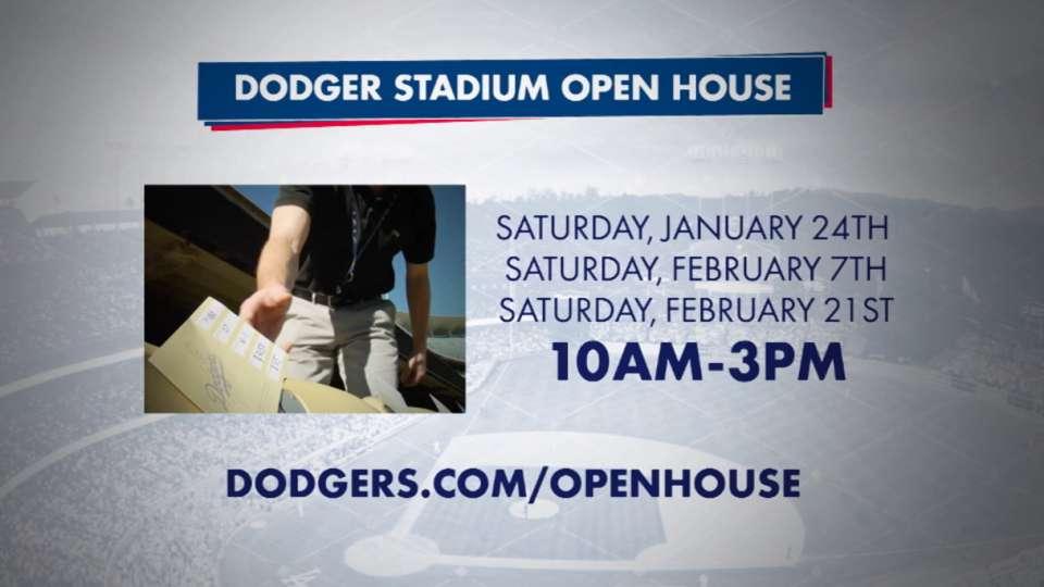 Dodger Stadium Open House