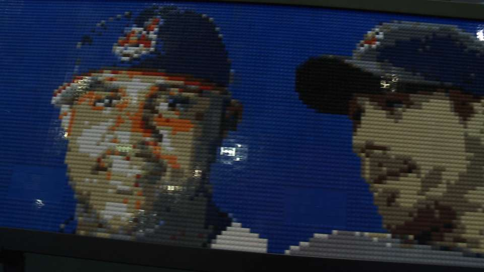 Lego art a hit at Tribe Fest
