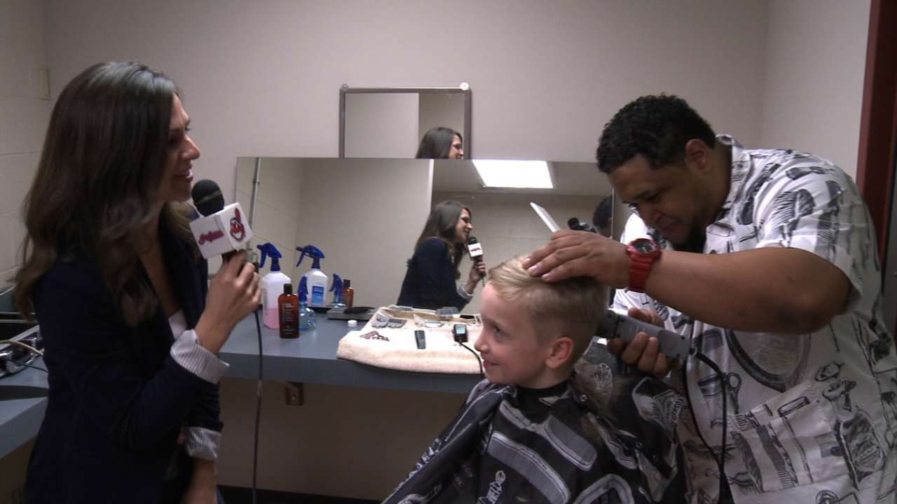 Get Your Hair Cut Like A Pro 01252015 San Francisco Giants