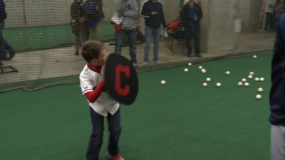 Kids get on-field lessons