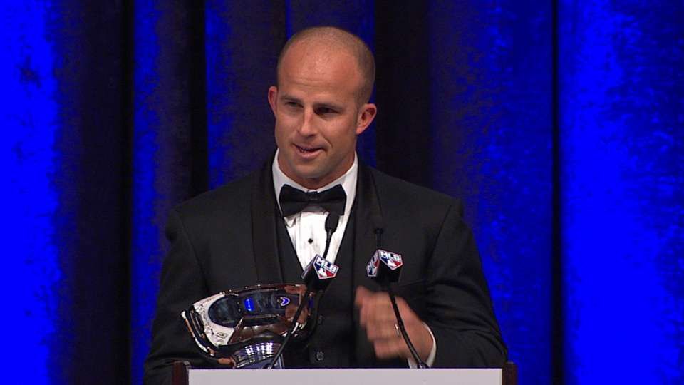 Gardner accepts Good Guy Award