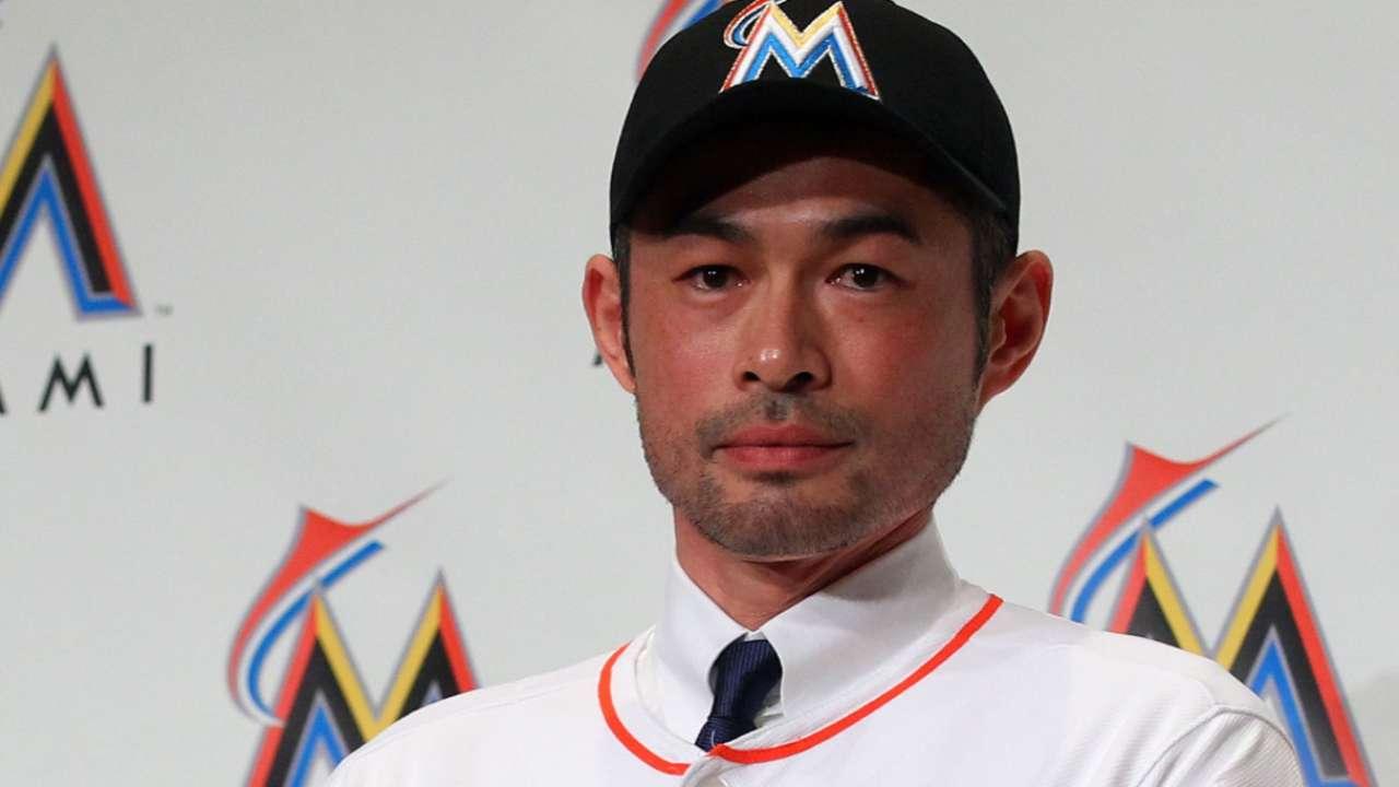 Ichiro Suzuki first Japanese player to join Marlins | MLB.com